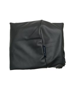 Dog's Companion® Bezug Medium schwarz leather look