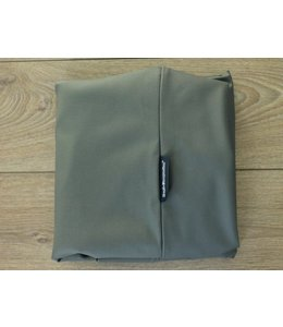 Dog's Companion® Extra cover Medium mouse grey leather look