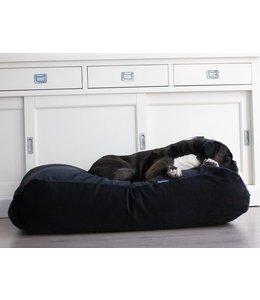 Dog's Companion® Hundebett Large Schwarz (Cord)