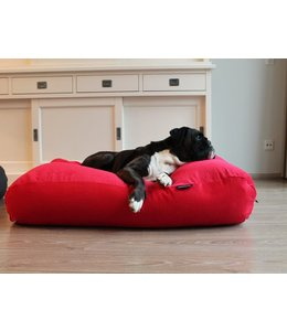 Dog's Companion Hundebett Rot (Cord) Medium
