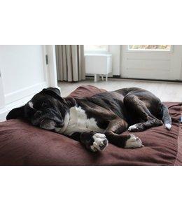 Dog's Companion® Hundebett Extra Small Mokka (Cord)