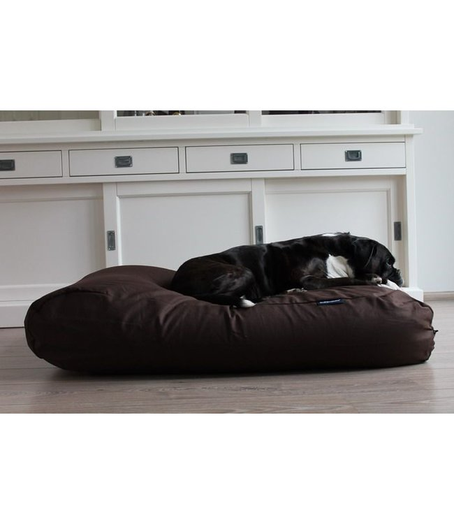 Dog's Companion Dog bed Chocolate Brown Cotton Small