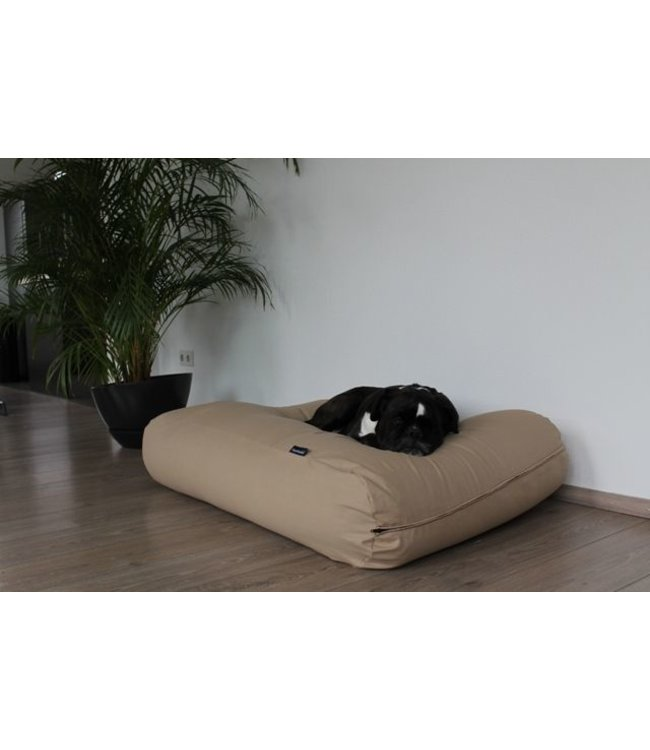 Dog's Companion® Dog bed Beige Cotton Extra Small