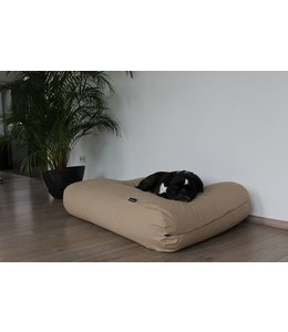 Dog's Companion Dog bed Beige Cotton Large