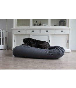 Dog's Companion Dog bed Granite Grey Cotton Small