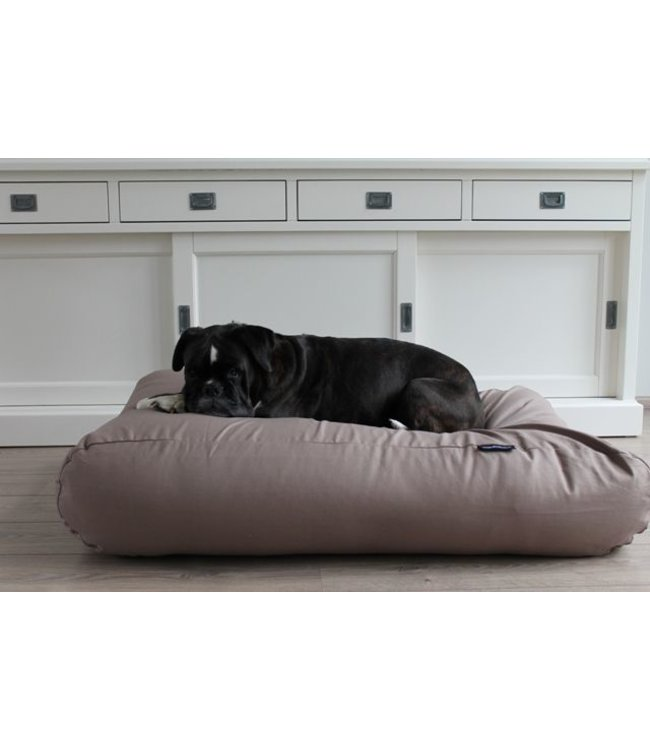 Dog's Companion® Dog bed Taupe Cotton Small