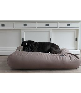 Dog's Companion Dog bed Taupe Cotton Large