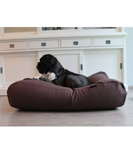 Dog's Companion Dog bed Chocolate Brown (upholstery)