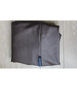 Dog's Companion® Extra cover Small chocolate brown leather look