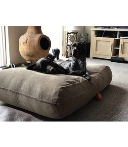 Dog's Companion® Dog bed Camel (Corduroy) Superlarge