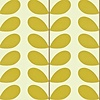 Orla Kiely behang Classic Stem - Olive green