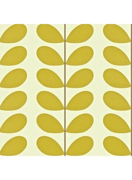 Orla Kiely behang Classic Stem - Olive green
