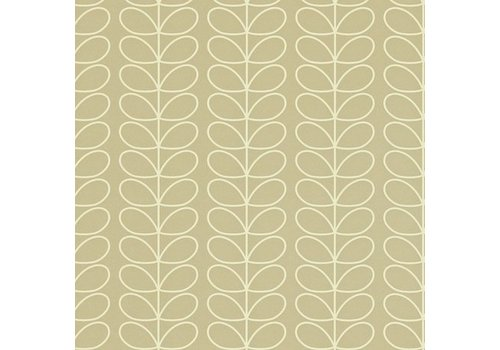 Orla Kiely behang Linear Stem - Stone