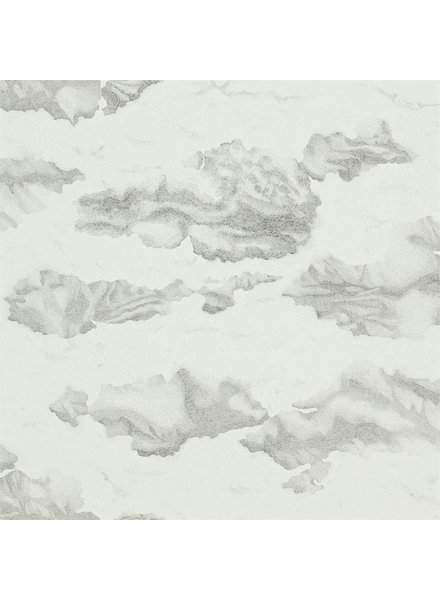 Harlequin behang Nuvola - Ink/Mica