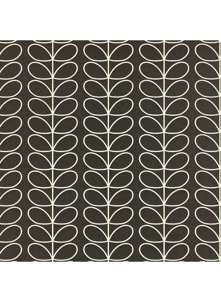 Orla Kiely behang Linear Stem - Charcoal