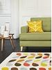 Orla Kiely Cushion Linear Stem Sunflower