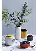 Orla Kiely Storage jar 1ltr Linear stem - Duck egg