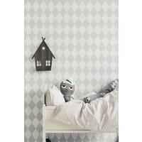 Ferm Living behang Harlequin