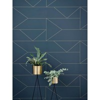 Ferm Living behang Lines