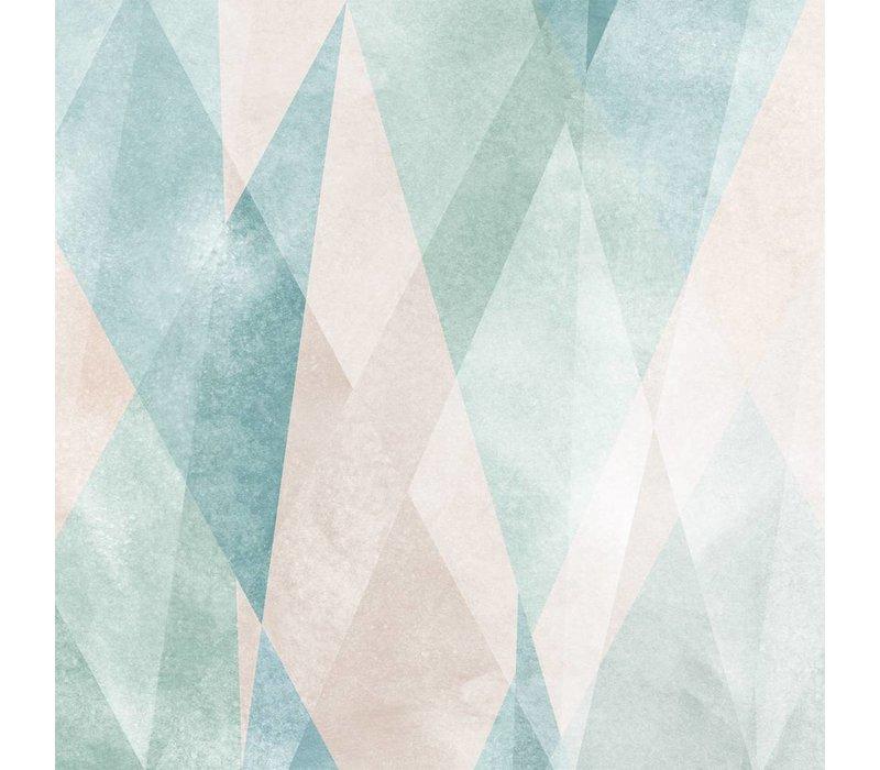 Sandberg behangpaneel Prisma Pastel