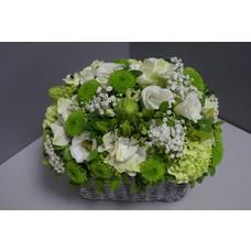 bloemstuk wit fijn A