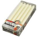Bolsius kaarsen Dinerkaarsen ivoor 10 stuks 230/20 mm