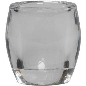 Bolsius Kleine glazen theelichthouder transparant