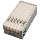 Bolsius Rustieke tafelkaarsen ivoor 270/23 mm 24 stuks in een doos voor de Horeca