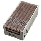 Bolsius Rustieke tafelkaarsen taupe 270/23 mm 24 stuks in een doos voor de Horeca