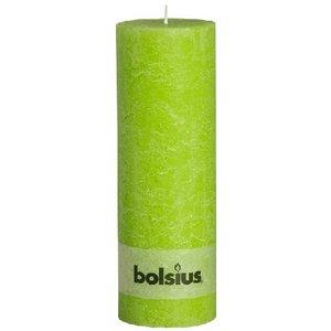 Bolsius Kaarsen kopen Rustieke stompkaarsen 300/100 mm lemon