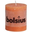 Bolsius Stompkaarsen 80/68 mm oranje