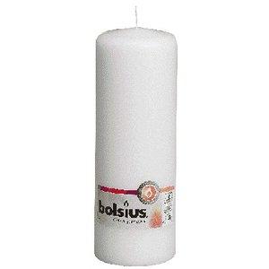 Bolsius Stompkaars kleur wit 200/70 mm