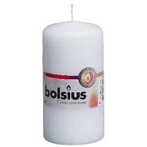 Bolsius Stompkaarsen 120/60 mm wit
