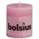 Bolsius kaarsen Stompkaarsen 80/68 mm roze