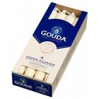 Gouda Gouda kroonkaarsen ivoor 8 in een doos 240/24 mm