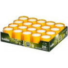 Bolsius kaarsen Relight navulling Oranje 20 stuks