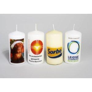 Kaarsen bedrukken online in de kaarsenwinkel