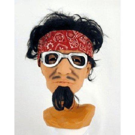 Masker Hippie met haar