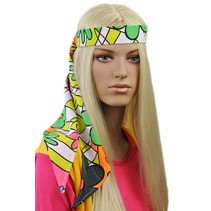 Flower Power Shawl voor Haar-Hals-Taille