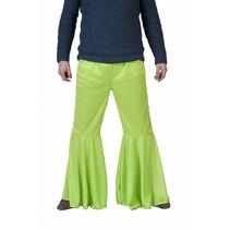 Hippiebroek Fluor Groen