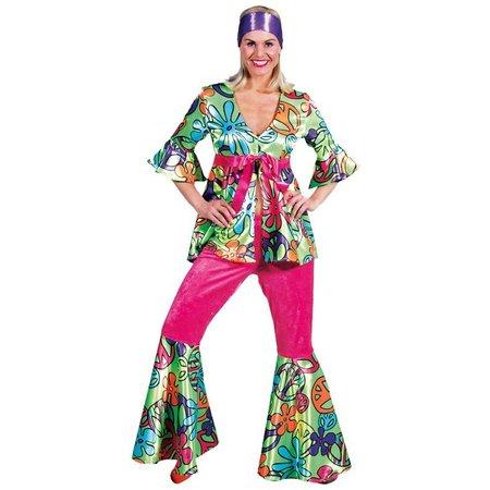 70's magic peace kostuum vrouw Elite