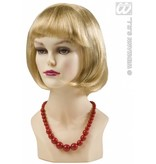 Parelketting 70's rood