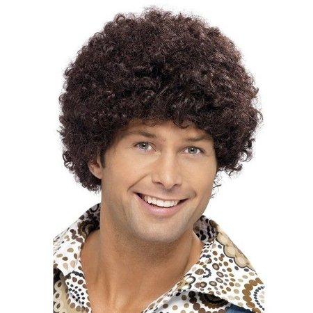 70's disco dude pruik