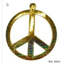 Peace teken decoratie King Size