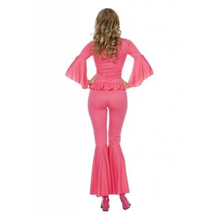 Funky Lady kostuum roze