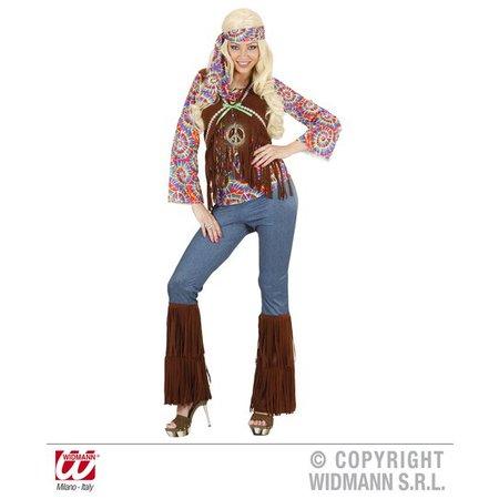 Hippie kostuum vrouw psychedelisch