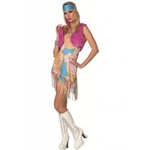 Hippie kostuum Linnet