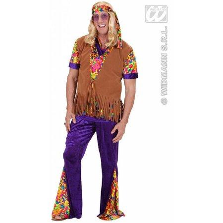 Hippie vest met hoofdband