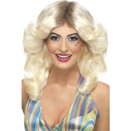 70's pruik Abba blond
