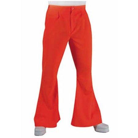 Hippie disco broek oranje